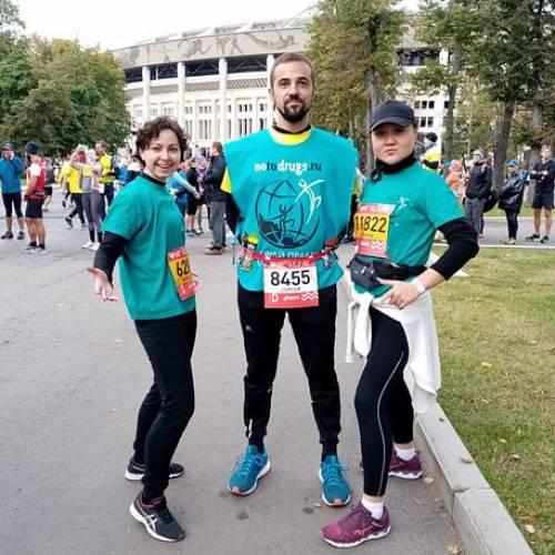 Весь Мир погружён в хаос, смерть, болезни, а в Москве- прошёл марафон!
